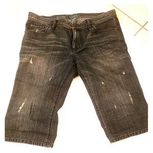 Ann Taylor denim Bermuda shorts
